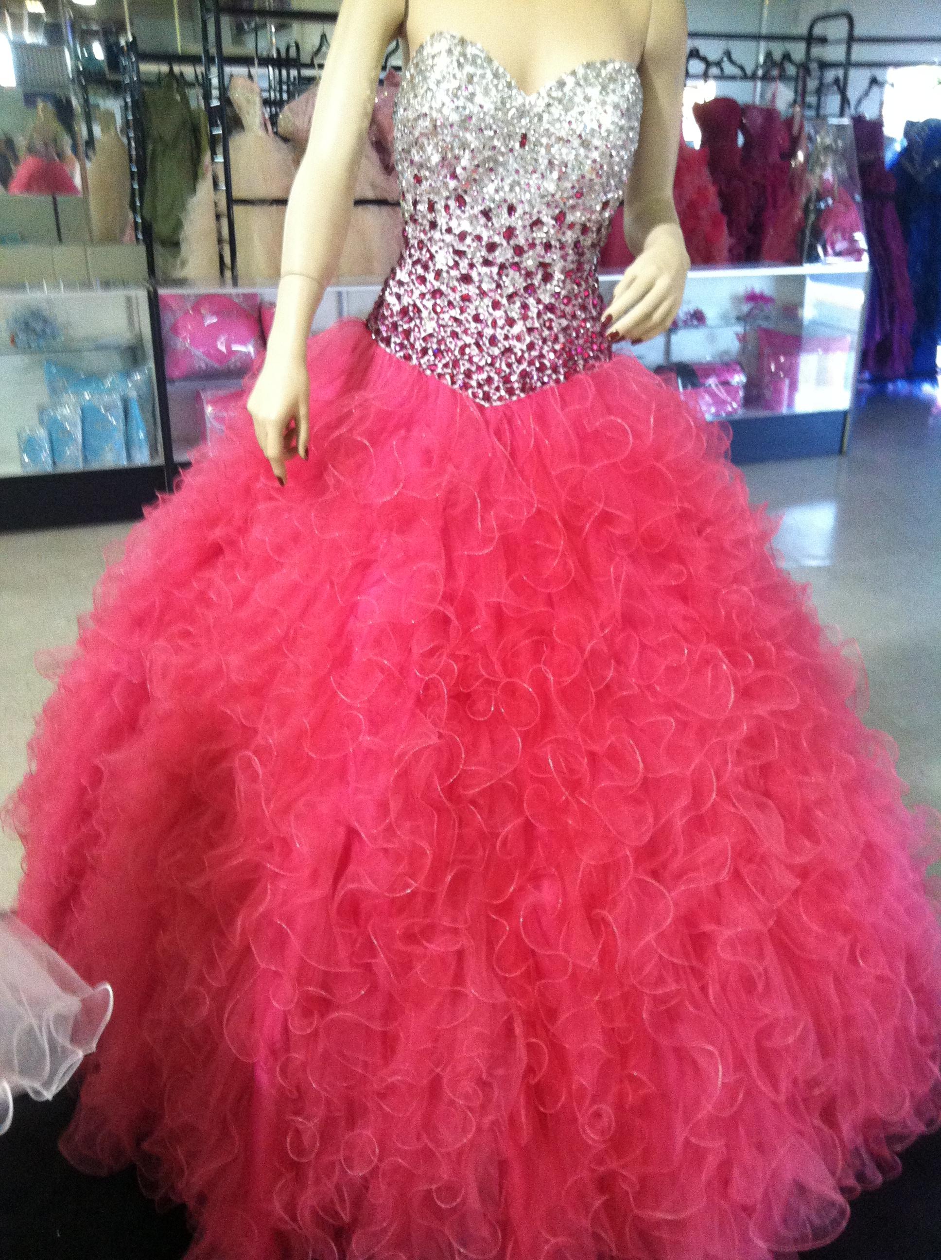 Moda 2000 dress - MyQuinceLife.com