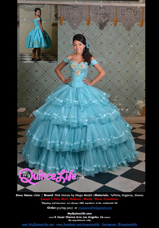 5f61cdcb4 vestido-de-quinceanera-charro-pink-horses-diego-medel