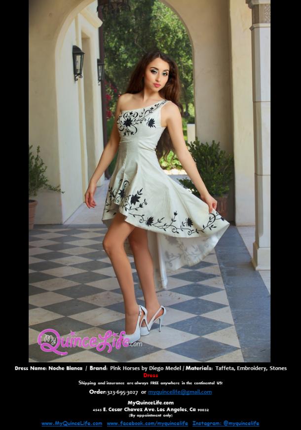 Dama charro-style dress