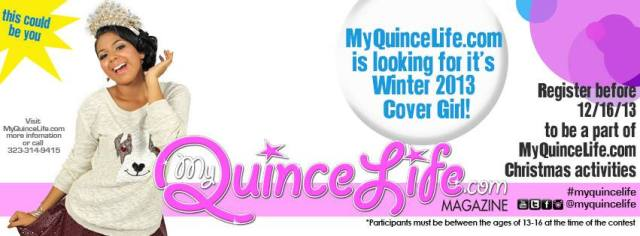 Quinceanera cover girl contest 2013 MyQuinceLife.com Magazine