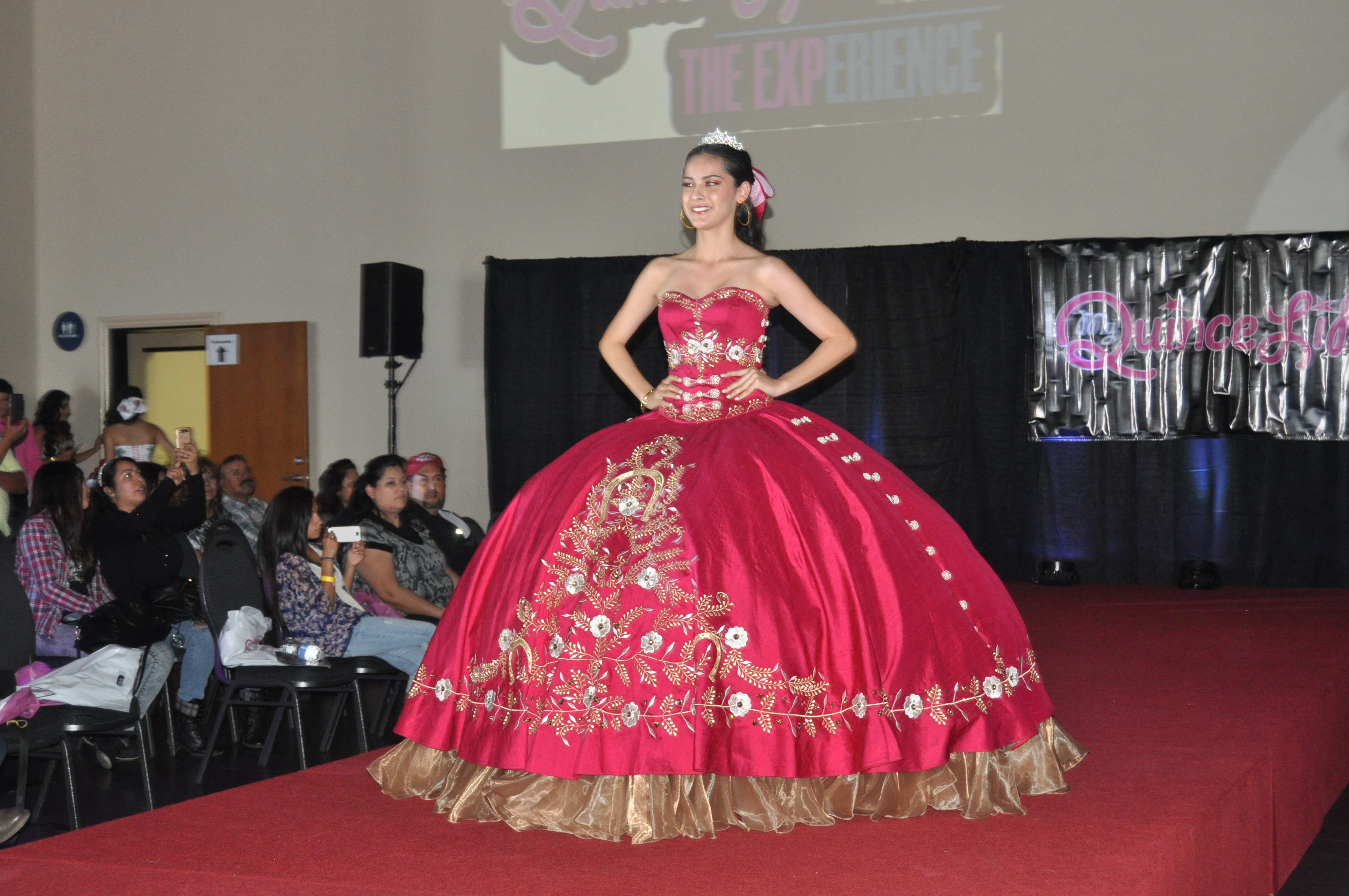 Quinceanera dresses fashion show 75