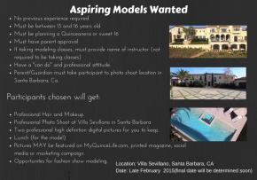 Aspiring Models Wanted