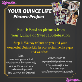 YOUR QuinceLife Picture Project